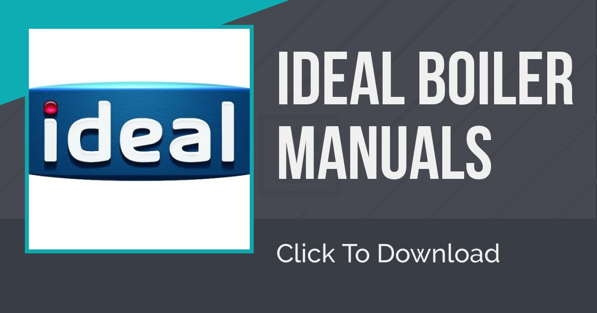 Ideal Boiler Manuals - Gas101